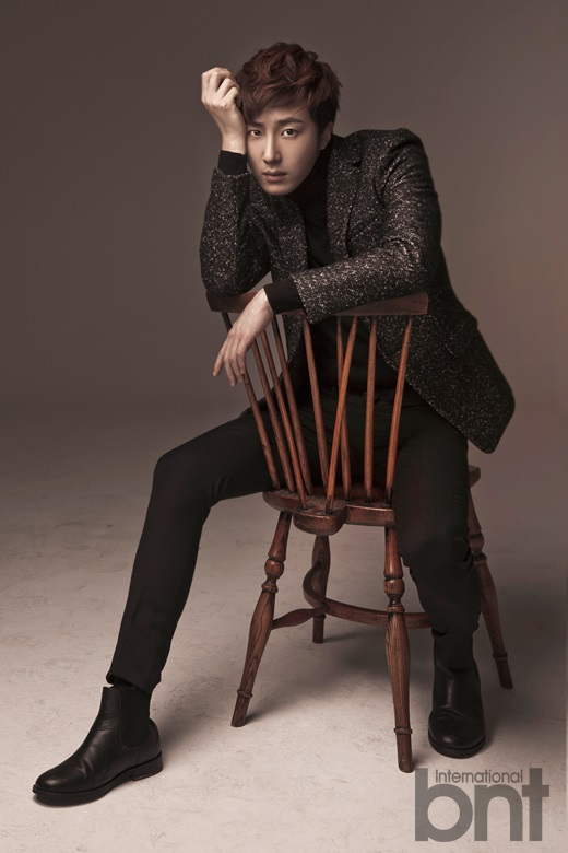 Jung II-woo in a BNT NEews Winter Chess Photo Shoot. 2013 12 26