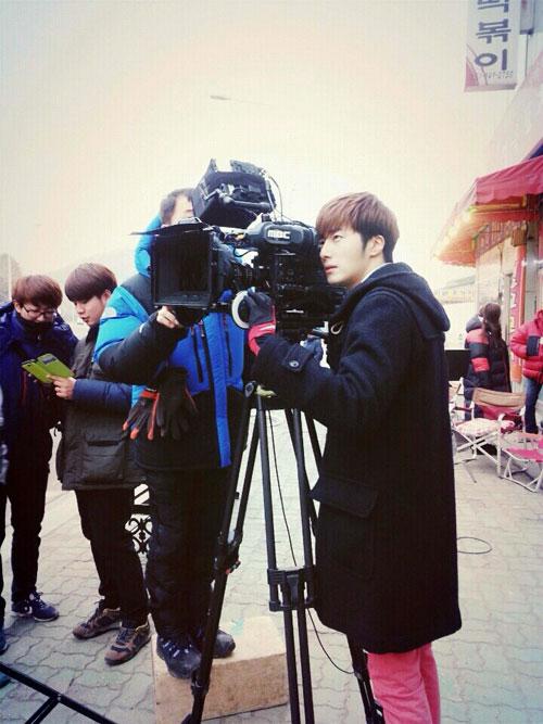 2014 01 Jung II-woo Golden Rainbow Ep 21 BTS 3
