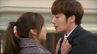 2014 01 Jung II-woo Golden Rainbow Ep 21 Kiss2