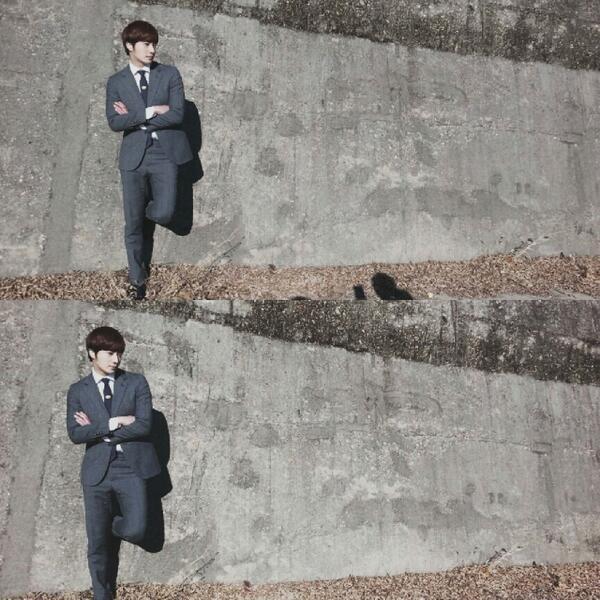2014 02  Jung II-woo in photos he posted in various social media accounts. 4.jpg