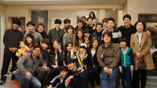 Jung II-woo in Golden Rainbow Last Days of Shooting 8