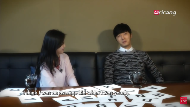 Jung II-woo in interview for Arirang TV. March 2014 9