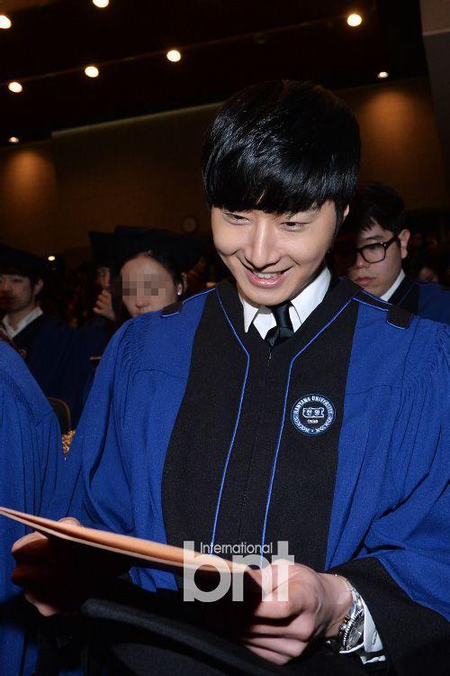 Jung II-woo's Graduation Hanyang University 2014 2 20 18