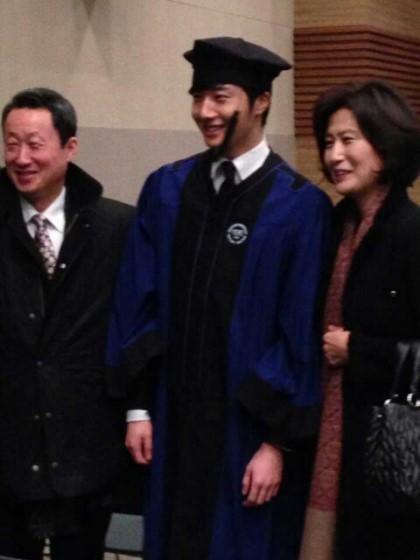 Jung II-woo's Graduation Hanyang University 2014 2 20 38