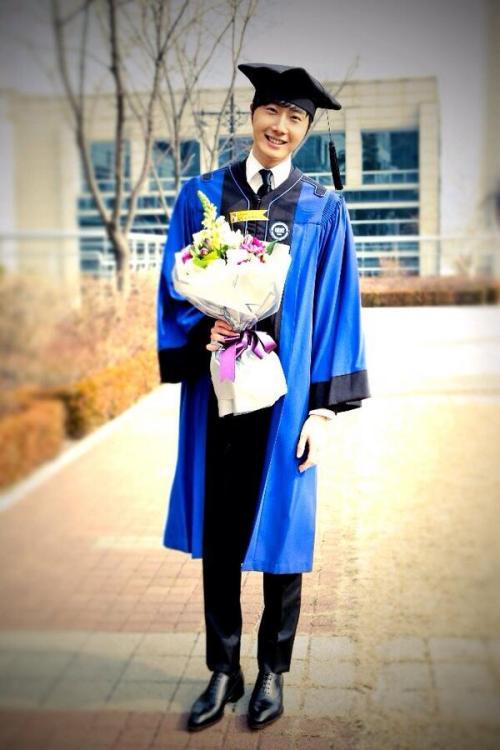 Jung II-woo's Graduation Hanyang University 2014 2 20 41