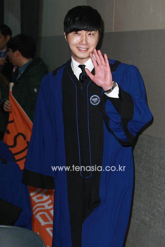 Jung II-woo's Graduation Hanyang University 2014 2 20 7