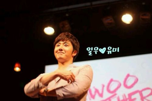 2014 6 7 Jung II-woo in Osaka Fan Meet Ilwoo Together 2