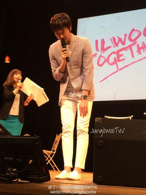 2014 6 7 Jung II-woo in Osaka Fan Meet Ilwoo Together 4