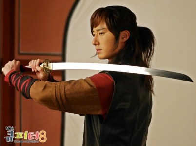 2014 7 Jung II-woo in The Night Watchman Journal Photo Shoot outside. Cr. Cupitter9 3
