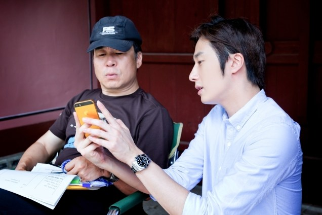 2014 7 Jung Il-woo Visiting set of TNWJ 6
