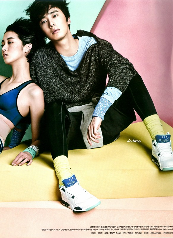 2014 10 Jung Il-woo for Vogue Magazine 1