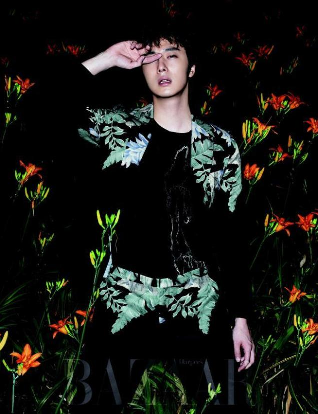 2014 8 Jung Il-woo for Harper's Bazaar Magazine 3