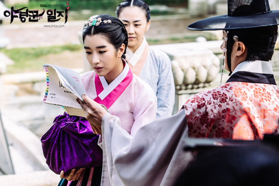 2014 9:10 Jung Il-woo in THe Night Watchman's Journal Episode 17 BTS 2 5