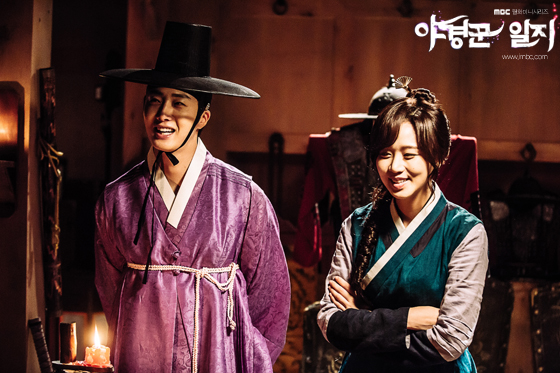 2014 9:10 Jung Il-woo in THe Night Watchman's Journal Episode 17 BTS 7