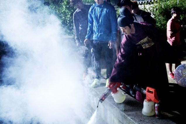Jung II-woo in the Night Watchman's Journal Episode 5 BTS Cr. MBC 18