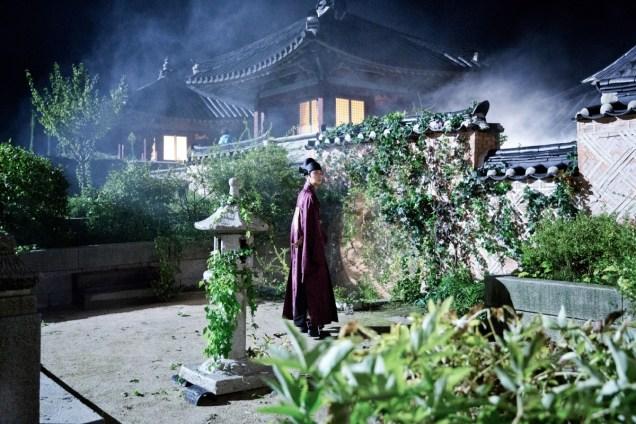 Jung II-woo in the Night Watchman's Journal Episode 5 BTS Cr. MBC 20