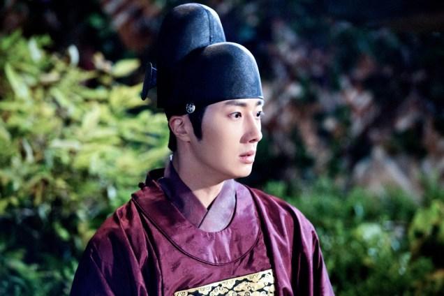 Jung II-woo in the Night Watchman's Journal Episode 5 BTS Cr. MBC 9