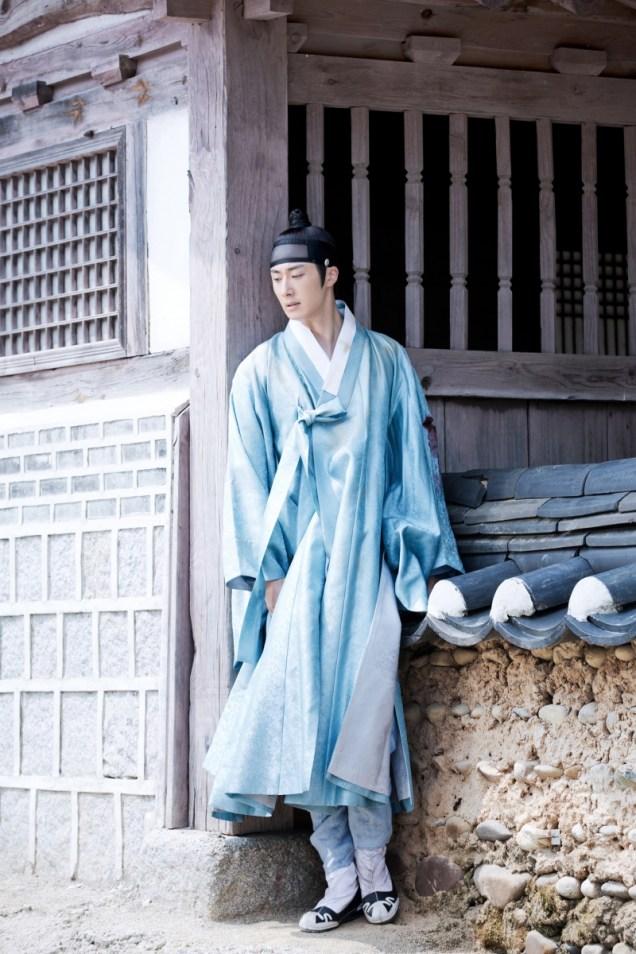 Jung II-woo in the Night Watchman's Journal Episode 6 BTS Cr. MBC 11