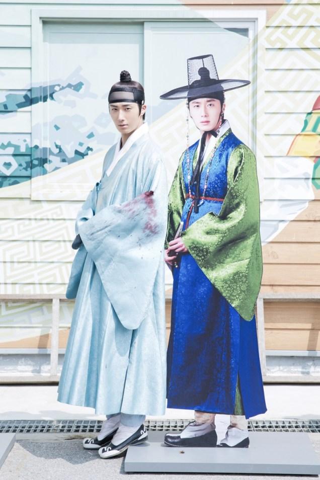 Jung II-woo in the Night Watchman's Journal Episode 6 BTS Cr. MBC 14