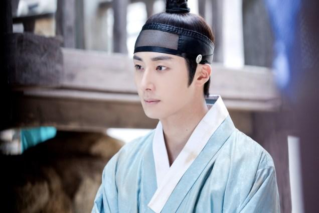 Jung II-woo in the Night Watchman's Journal Episode 6 BTS Cr. MBC 6