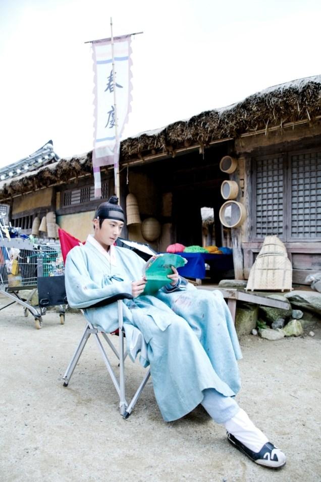 Jung II-woo in the Night Watchman's Journal Episode 7 BTS Cr. jungilwoo.com2