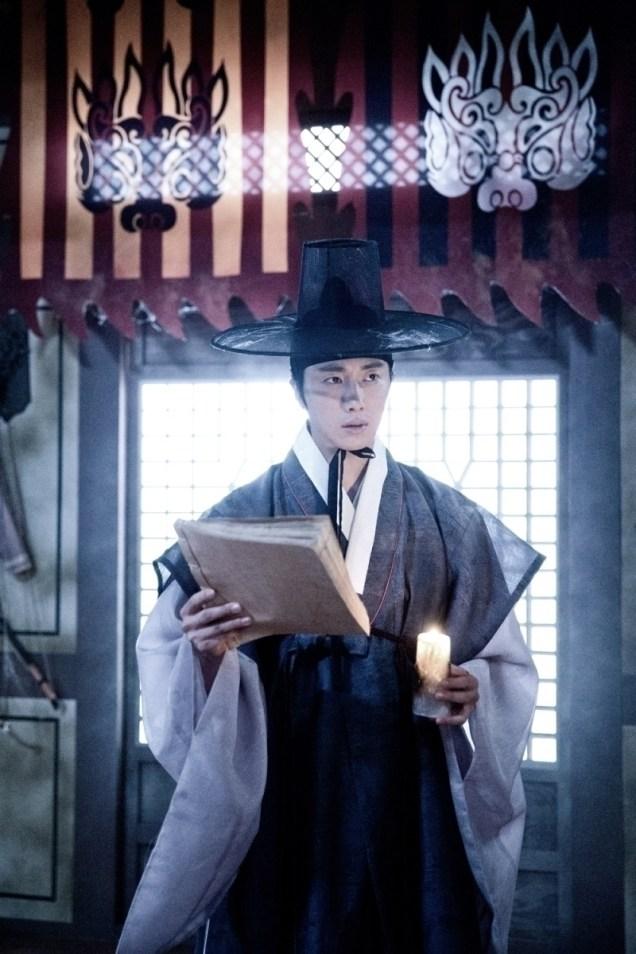 Jung II-woo in the Night Watchman's Journal Episode 7 BTS Part 2 Cr. jungilwoo.com 12
