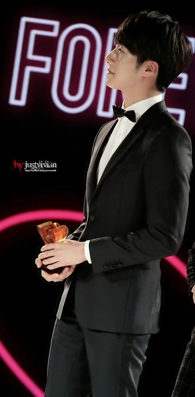 2014 10 29 Jung Il-woo at the Beauty Cosmo Awards in Shanghai, China. 1