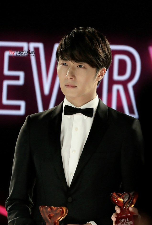2014 10 29 Jung Il-woo at the Beauty Cosmo Awards in Shanghai, China. 2