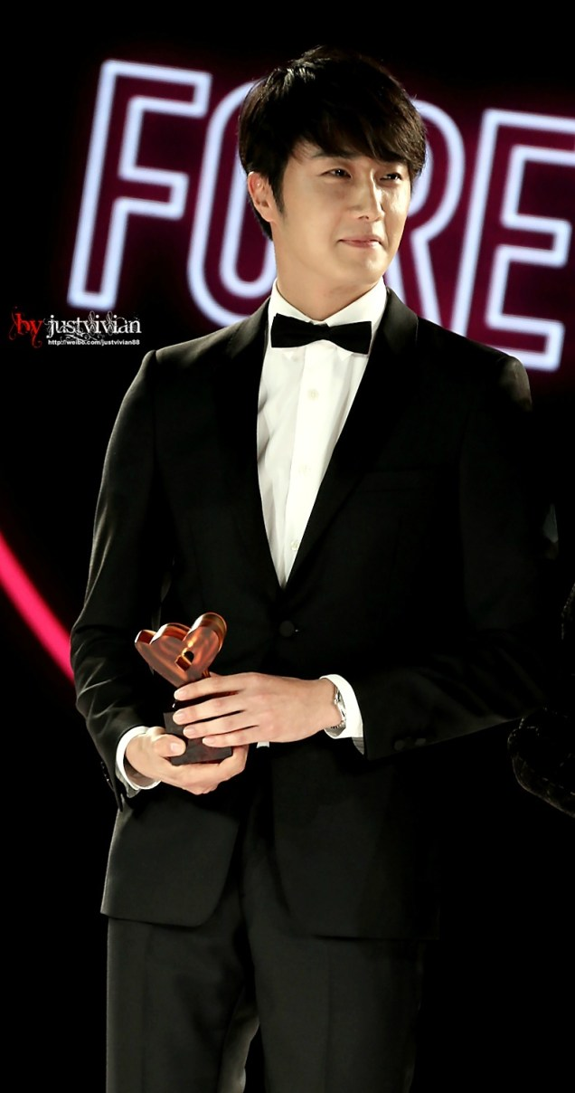 2014 10 29 Jung Il-woo at the Beauty Cosmo Awards in Shanghai, China. 4