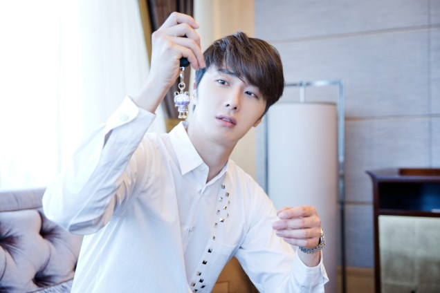 2014 10 29 Jung Il-woo at the Beauty Cosmo Awards in Shanghai, China. Interview 2 14