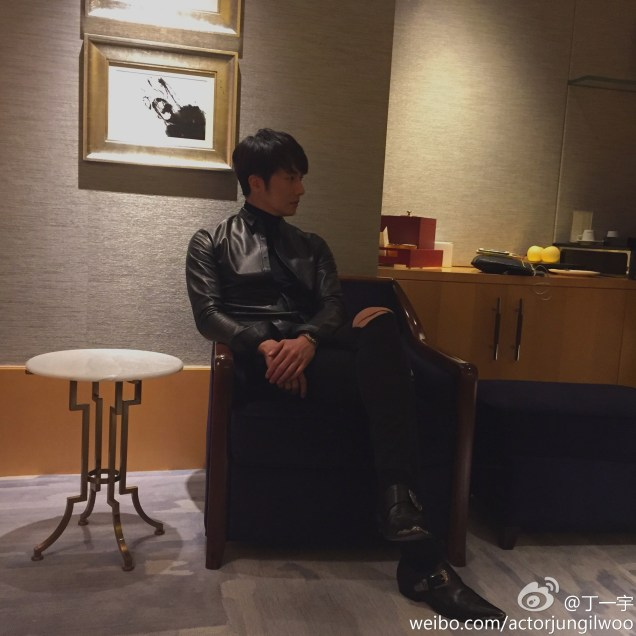 2014 10 29 Jung Il-woo at the Beauty Cosmo Awards in Shanghai, China. JIW Social Media Posts and others 2