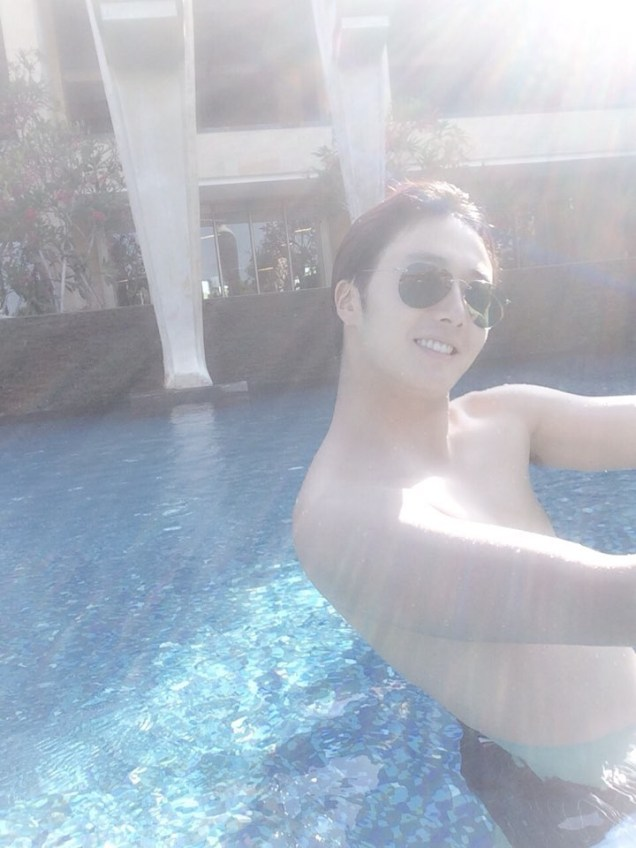 2014 10:11 Jung Il-woo in Bali for BNT International Part 1: BTS A 5