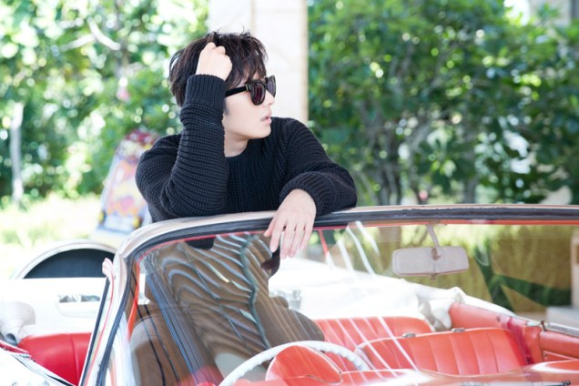 2014 10:11 Jung Il-woo in Bali for BNT International Part 1: Cars 12