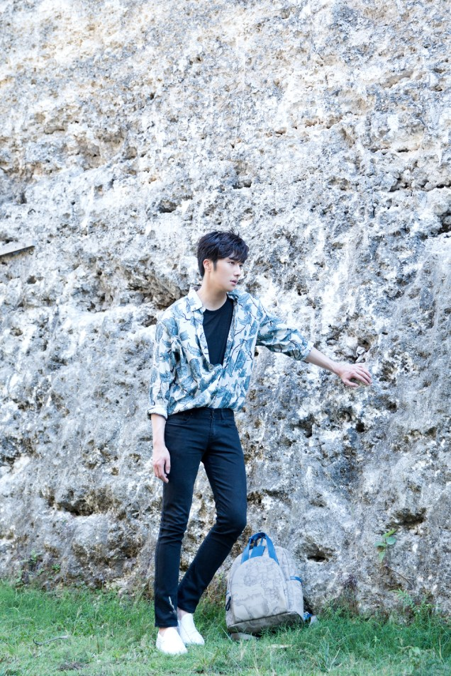 2014 10:11 Jung Il-woo in Bali for BNT International Part 3: Cliffy Goodness Cr.BNT International 14