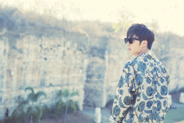 2014 10:11 Jung Il-woo in Bali for BNT International Part 3: Cliffy Goodness Cr.BNT International 3