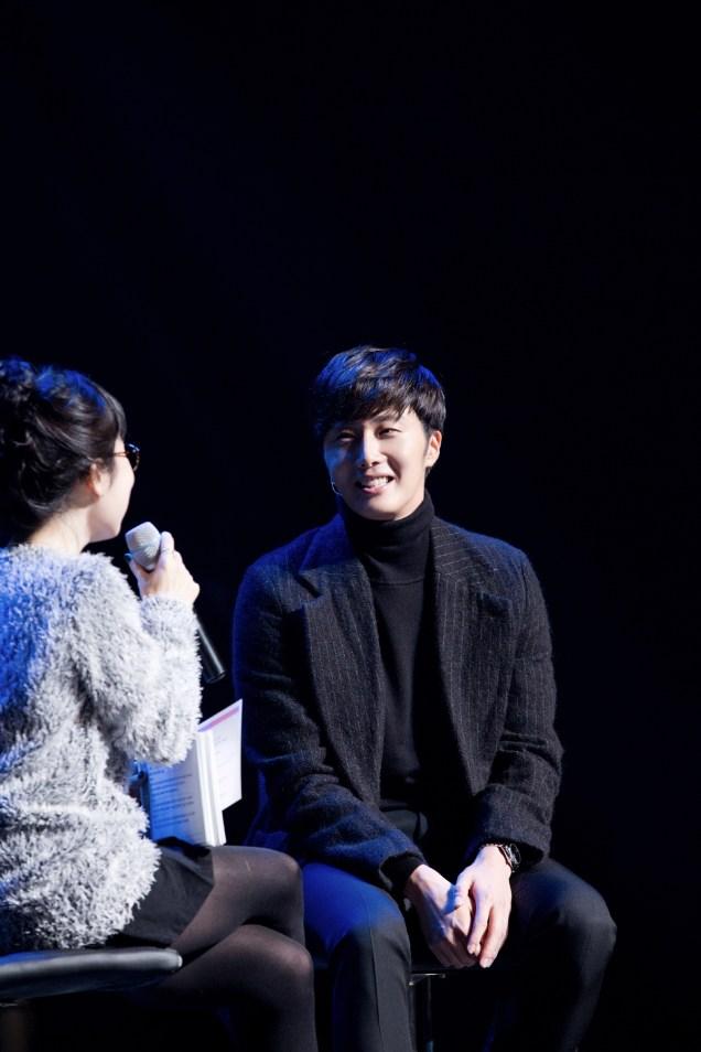 2014 11 22 Jung II-woo in his Fourth Korean Fan Meet. Cr.jungilwoo.com 31