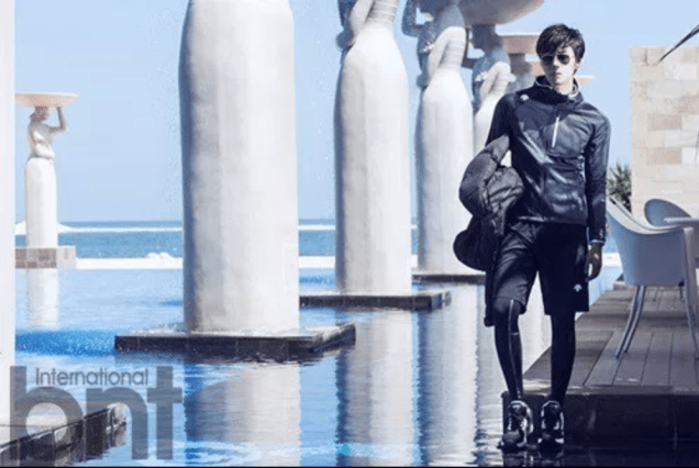 2014 11 Jung Il-woo in Bali Photo Shoot for BNT International. More with Logo 28