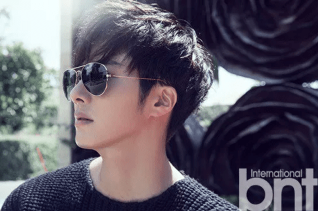 2014 11 Jung Il-woo in Bali Photo Shoot for BNT International. More with Logo 30