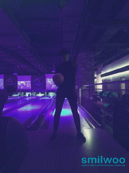 2014 12 26 Jung Il Woo at a Smilwoo Bowling Event in Japan. 3