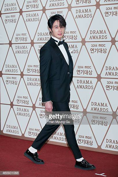 2014 12 30 Jung Il-woo Red Carpet at the 2014 MBC Awards 1