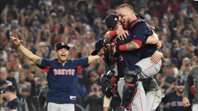 2018 10 28 Boston Wins World Series Photos 7