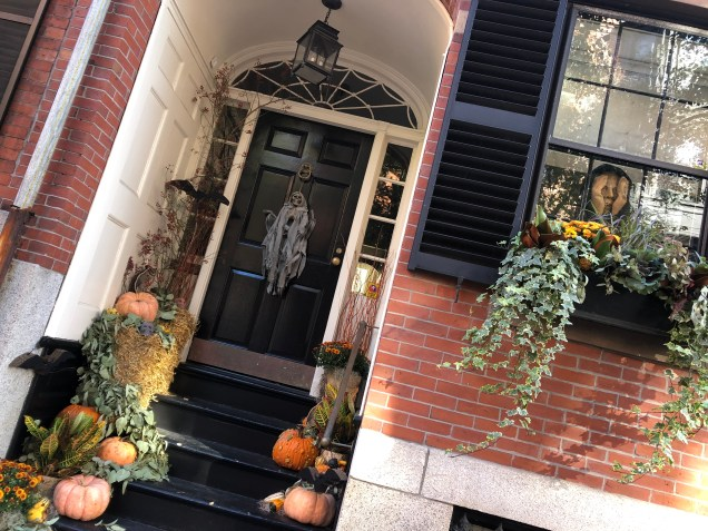 2018 Boston decorated for Halloween. Cr. Fan 131