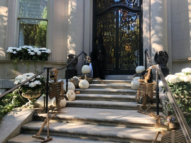 2018 Boston decorated for Halloween. Cr. Fan 1313