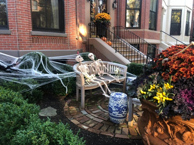 2018 Boston decorated for Halloween. Cr. Fan 133