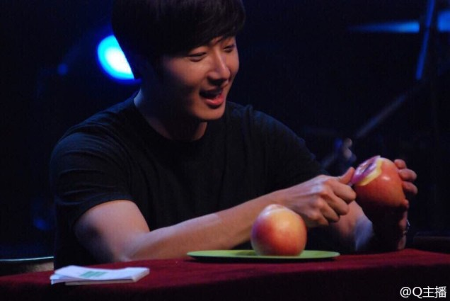 2015 2 1 Jung Il-woo at the Beijing Fan Meeting. 26