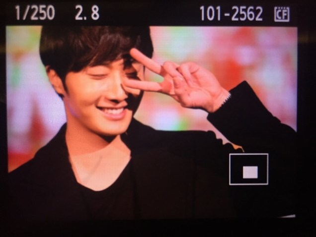 2015 2 1 Jung Il-woo at the Beijing Fan Meeting. 4