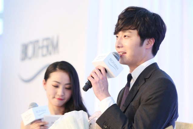 2015 3 20 Jung Il-woo at a Biotherm Event in Beijing, China. 11