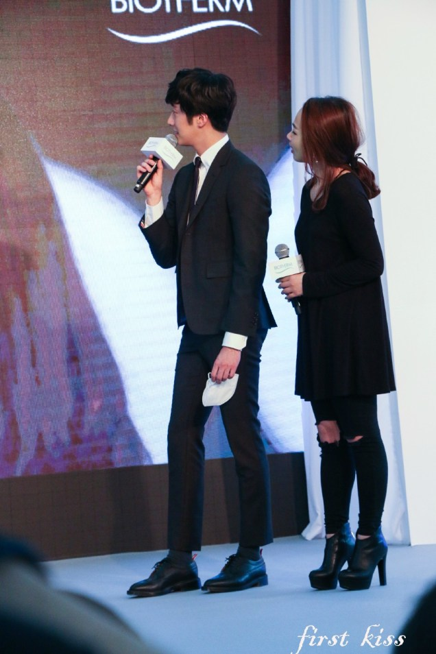 2015 3 20 Jung Il-woo at a Biotherm Event in Beijing, China. 19