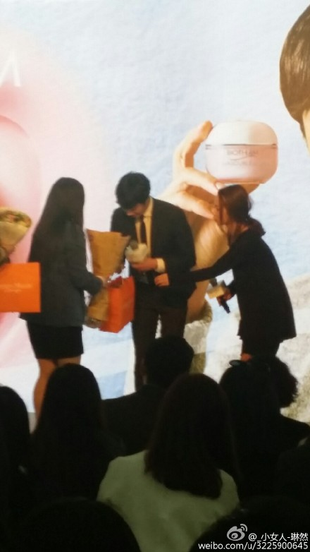 2015 3 20 Jung Il-woo at a Biotherm Event in Beijing, China. 30
