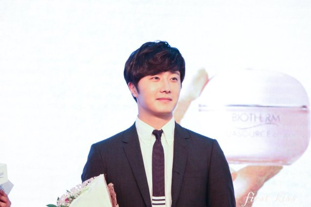 2015 3 20 Jung Il-woo at a Biotherm Event in Beijing, China. 34